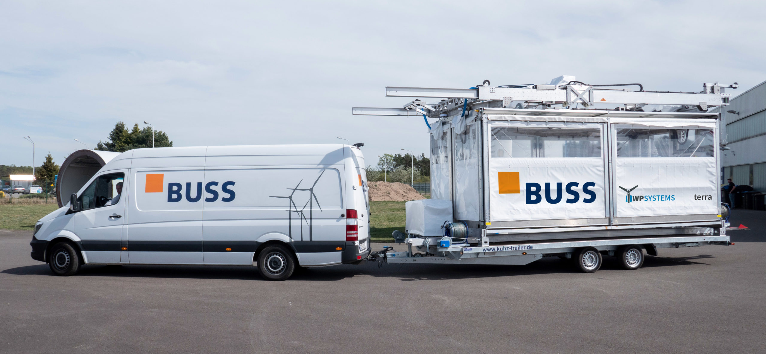 BUSS GmbH is a big customer of WP Systems